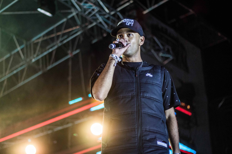 27 April 2017: YoungstaCPT at the Back To The City festival in Johannesburg. (Photograph by Sabelo Mkhabela)
