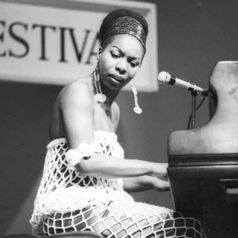 Circa 1950: Photo of Nina Simone by Tom Copi/Michael Ochs Archives/Getty Images