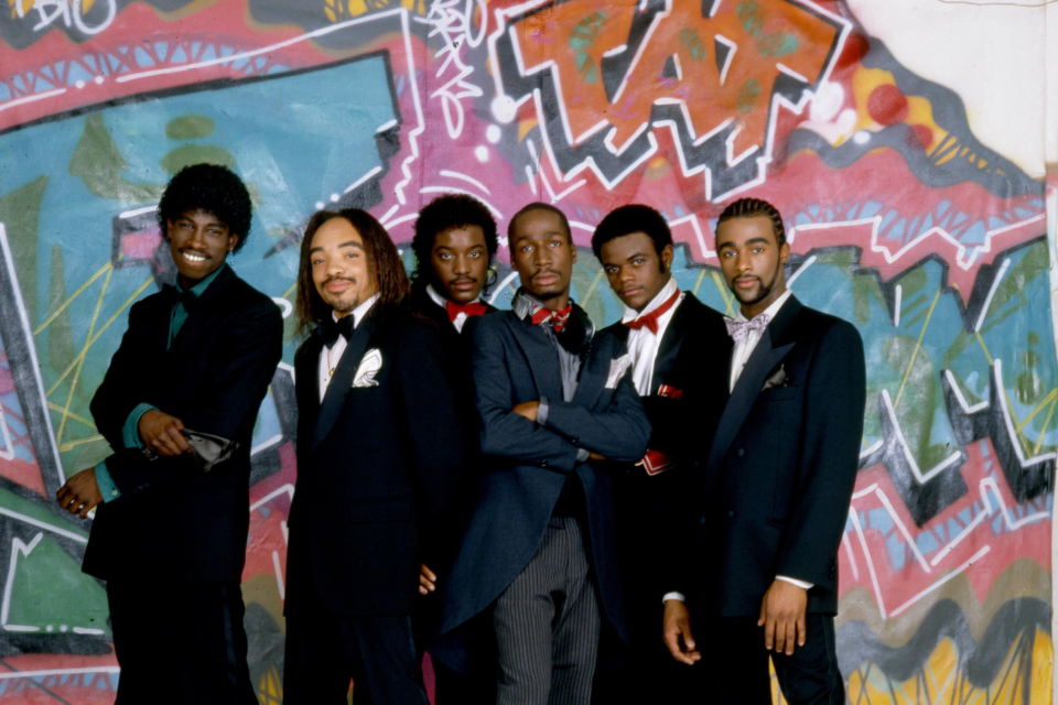 1 December 1980: Grandmaster Flash and the Furious Five in New York City. (Photograph by Anthony Barboza/Getty Images)