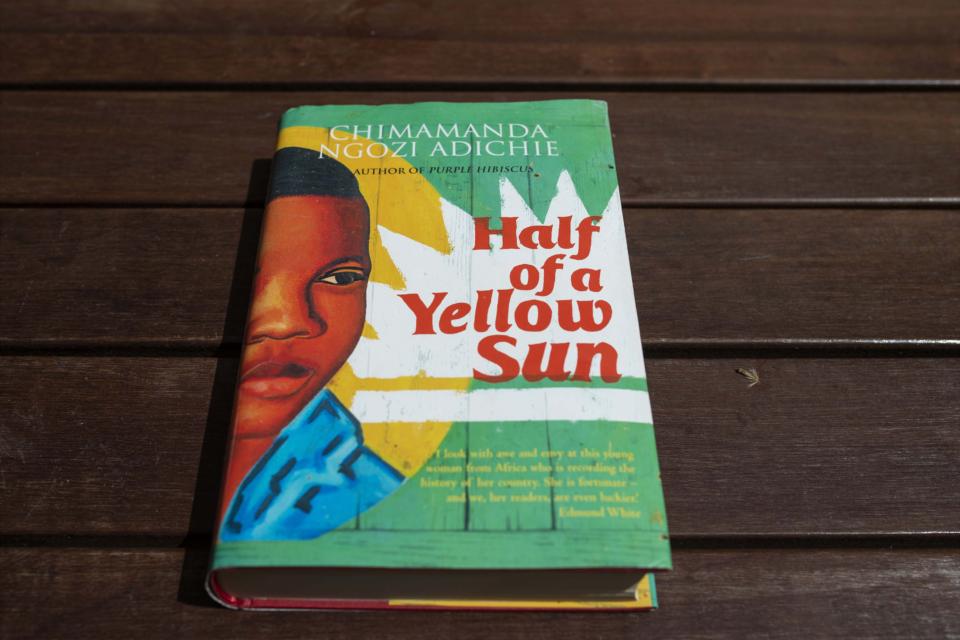 Chimamanda Ngozi Adichie's Half of a Yellow Sun.