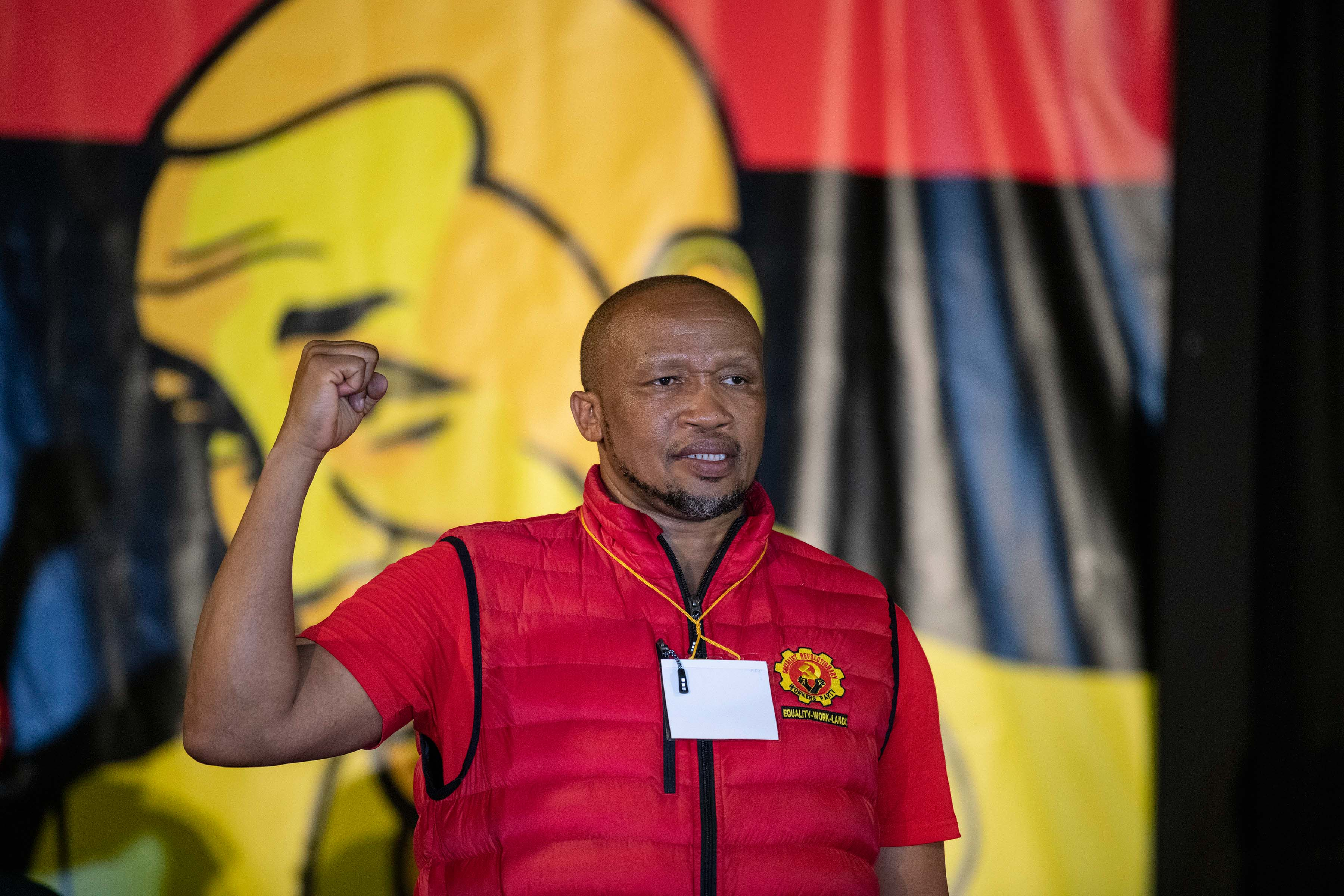 4 April 2019: Numsa general secretary Irvin Jim during the launch.