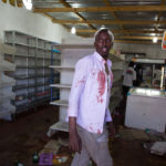 29 August 2018: Somalian Nuur Deeq Dhere was attacked by looters in Soweto. Foreign owned shops were looted in Soweto during xenophobic violence. Picture: James Oatway