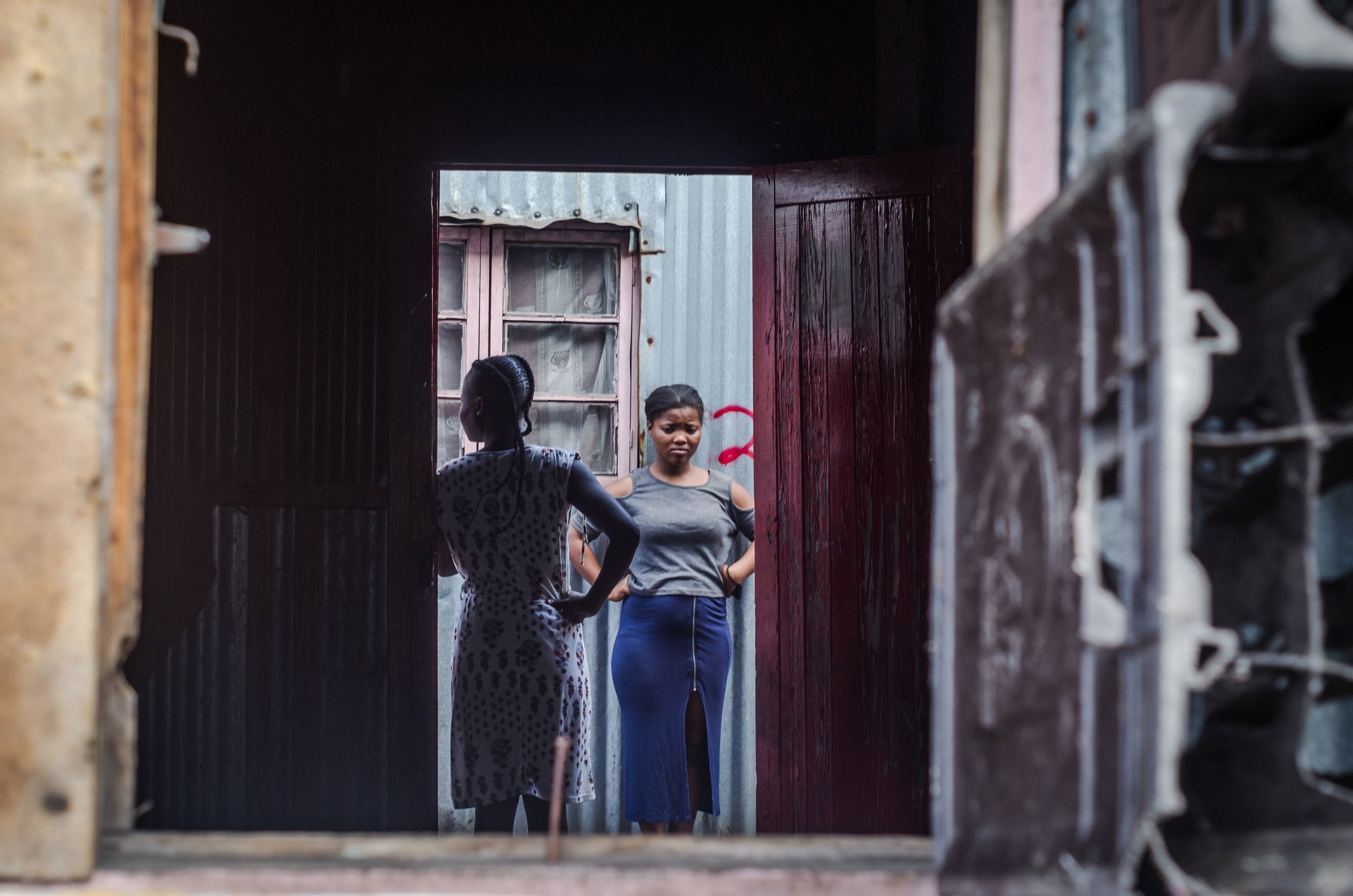15 June 2018: Residents of Lamontville Transit Camp being evicted by the City of eThekwini's Security Management Unit and the Department of Human Settlements, in Lamontville South of Durban.