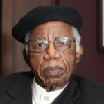 20 November 2009: Portrait of Chinua Achebe, Nigerian poet and writer. (Photograph by Eamonn McCabe/Getty Images)