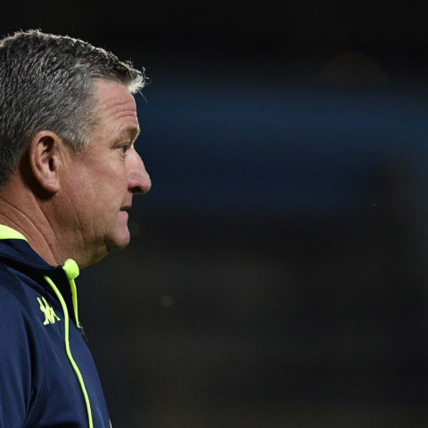 26 October 2018: Gavin Hunt during the Absa Premiership match between Bidvest Wits and Highlands Park at Bidvest Stadium in Johannesburg. (Photograph by Lefty Shivambu/Gallo Images)