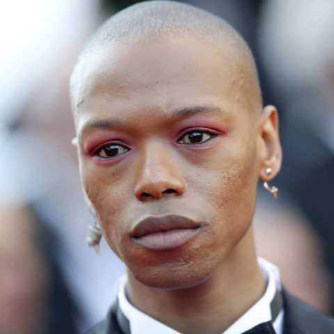 11 May 2018: Nakhane at the screening of 'Ash is Purest White' at the Cannes Film Festival. (Photograph by Vittorio Zunino Celotto/Getty Images for Kering)