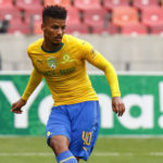 26 January 2019: Rivaldo Coetzee of Mamelodi Sundowns during the Last 32 match of the Nedbank Cup against Chippa United at Nelson Mandela Bay Stadium in Port Elizabeth. (Photograph by Michael Sheehan/Gallo Images)