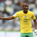 25 March 2017: Kamohelo Mokotjo during an international friendly game between South Africa and Guinea-Bissau at Moses Mabhida Stadium in Durban. (Photograph by Anesh Debiky/Gallo Images)