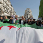 12 March 2019: Protestors demand immediate political change in Algiers, Algeria (Photograph by Reuters/Zohra Bensemra)