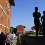 21 July 2017: David Bruce's 2013 study found at least 450 post-apartheid political assassinations, mostly in KwaZulu-Natal. The Moerane Commission visited Glebelands Hostel to gather evidence. (Photograph by Gallo Images/City Press/Siyanda Mayeza)