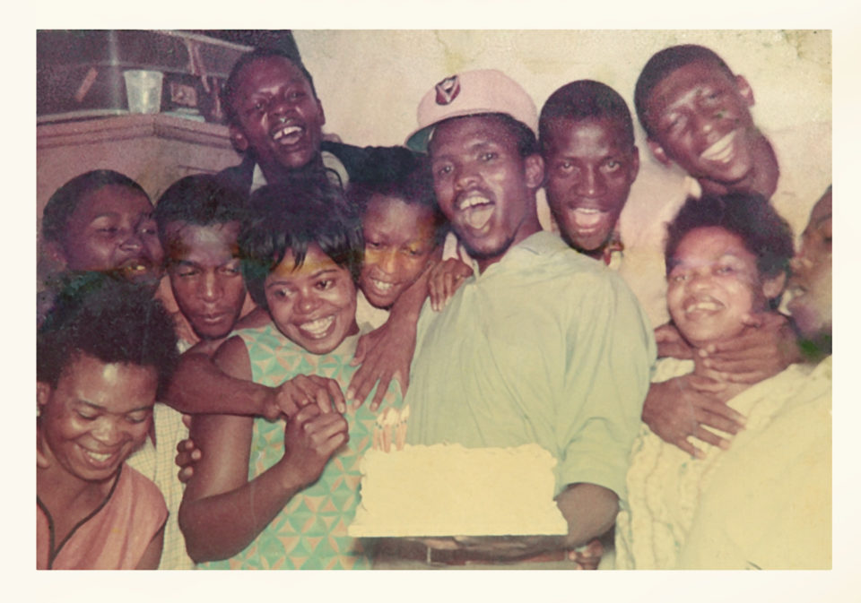 Previously unpublished picture of Steve Biko with friends taken in Durban almost 50 years ago. Picture: supplied