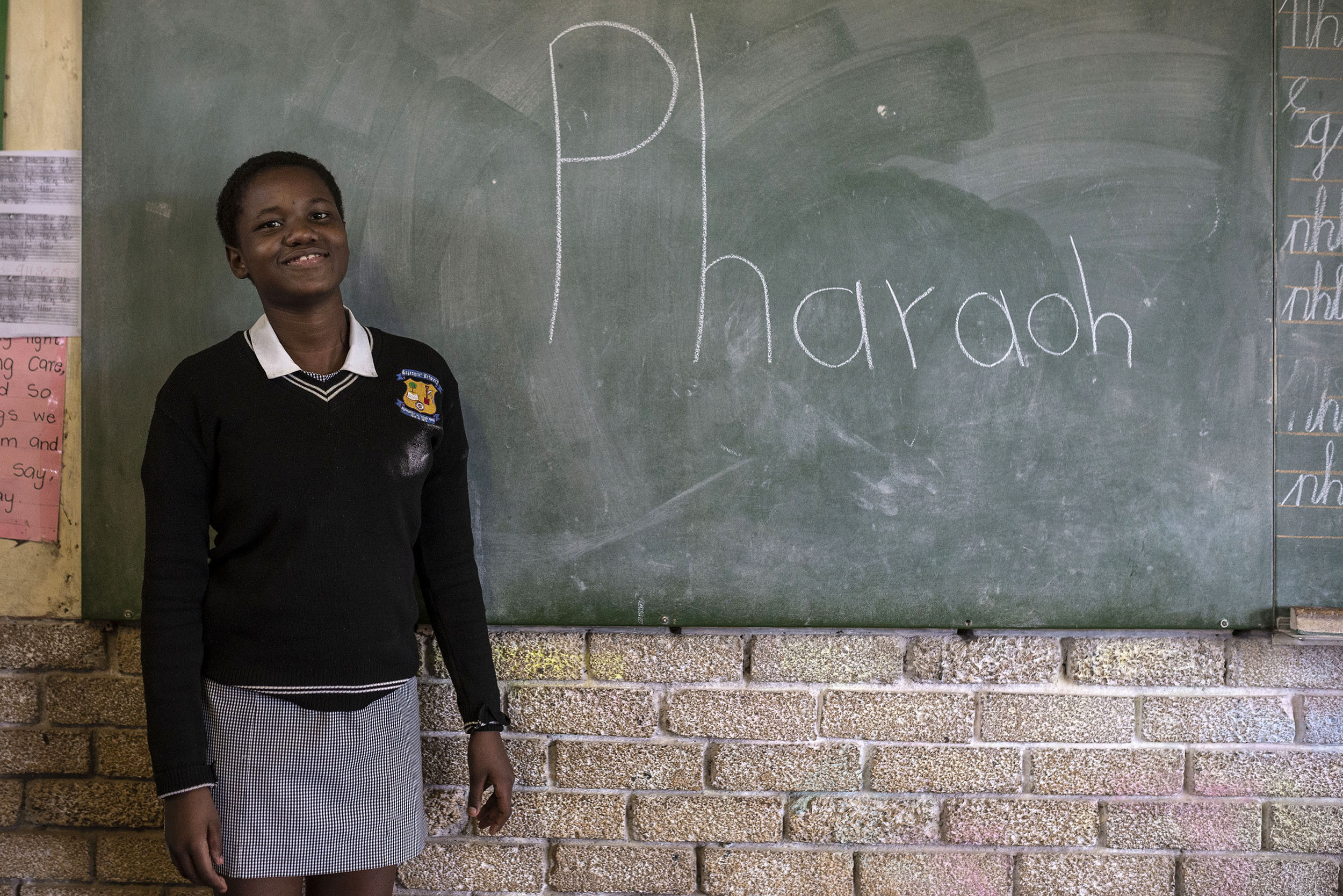 08 August 2018: 'PHARAOH' The word that 13-year-old Hlulani Baloyi had to spell correctly in order to win the national championship of the Mzansi Spelling Bee competition.