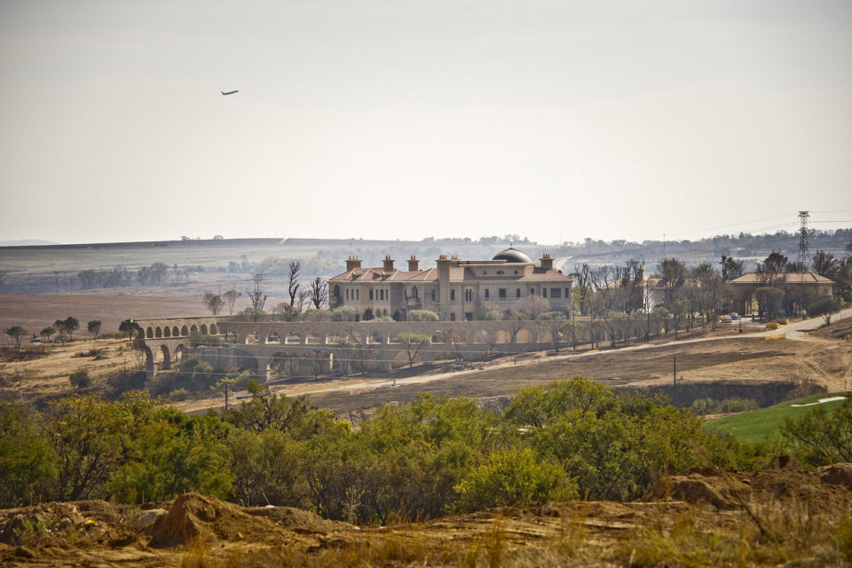 27 May 2013: Steyn City seen while still under development in 2013. (Photo by Gallo images / Foto24 / Cornel van Heerden)