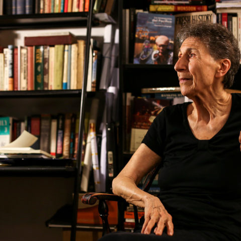 'The goal was to get wages for housework in order to raise the level of our struggle, not to end it,' says Silvia Federici. (Photograph by Luis Nieto Dickens)