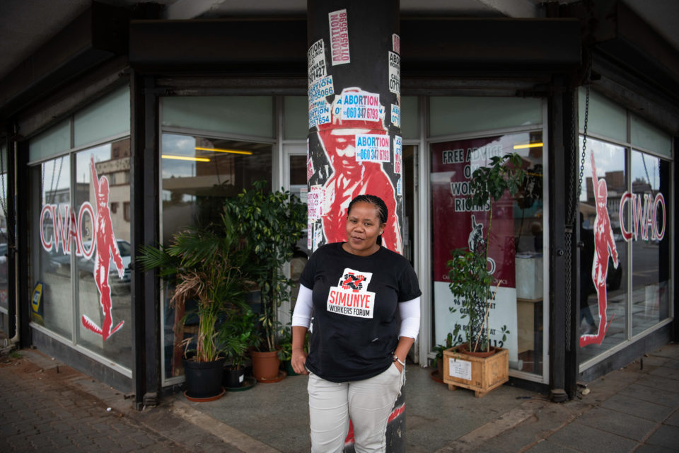 16 February 2019: Gladys Thaane was dismissed from her job at Heineken during strike action. She now uses her background in theatre to explain labour policies to members of the Simunye Workers Forum.