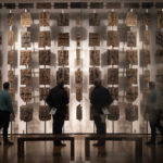 22 November 2018: Plaques that form part of the Benin Bronzes are displayed at The British Museum, in London. The British Museum has agreed to loan the plaques back to a new museum in Benin City in Nigeria. (Photograph by Dan Kitwood/Getty Images)