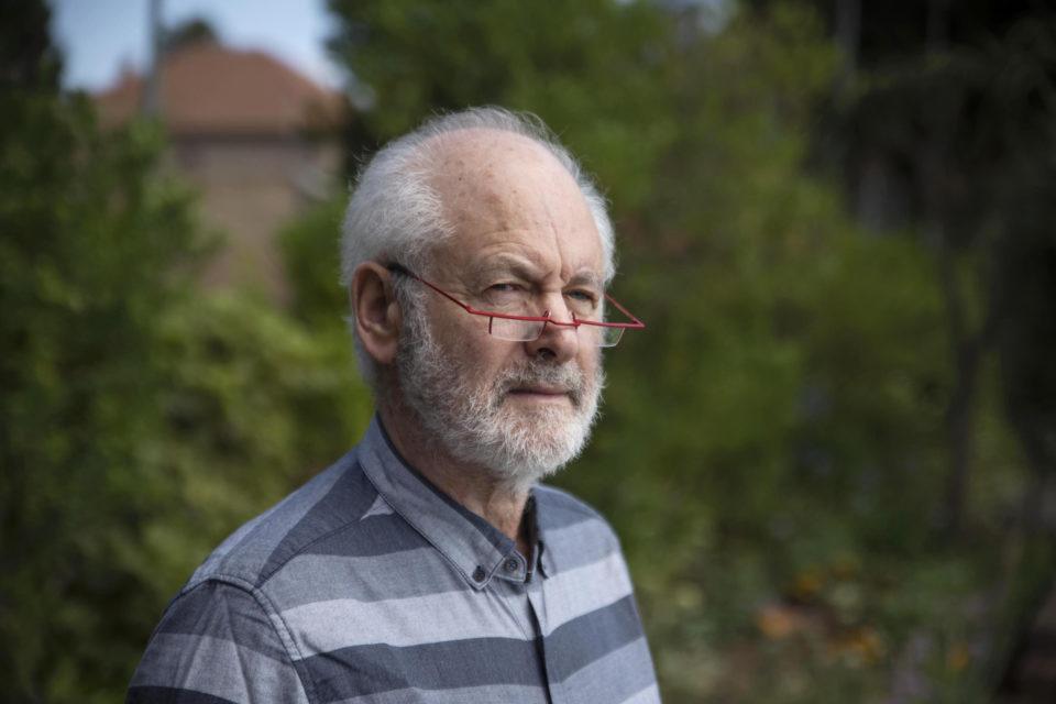 10 December 2018: Professor Raymond Suttner at his home in Johannesburg.