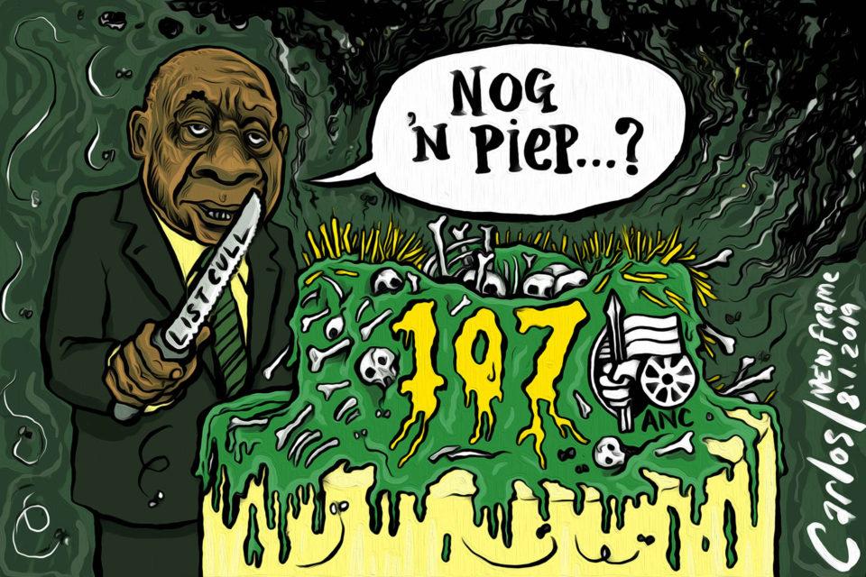 Cartoon by Carlos | Deboning the cake