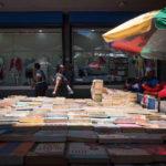 4 December 2018: Informal traders selling books near Gandhi Square in Marshalltown.