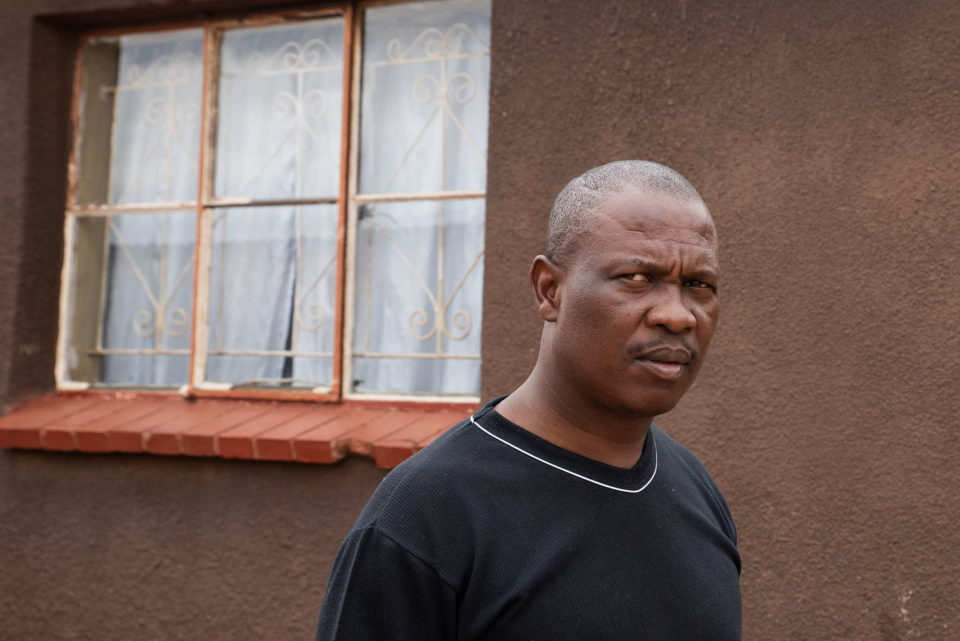 "31 October 2018: Godfrey Mngomezulu, unemployed since 2014, says, ""I don't wish to see someone else struggling like I was struggling. I'm willing to help others because I know how hard it is when you are struggling""."