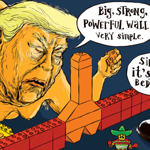 Cartoon by Carlos   Cock on the block