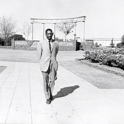 Circa 1950's: Robert Sobukwe. (Photograph by Gallo Images/Avusa)