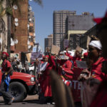 19 March 2019: Healers took to the streets with the Traditional Healers Organisation, marching to 'end medicine apartheid' and include traditional healing more fully in South African healthcare frameworks.