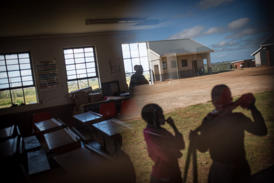Kwambenya Senior Primary, a school on the outskirts of Bizana in the Eastern Cape.