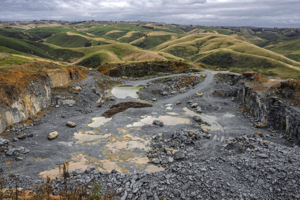 08 September 2018: The stone quarry which has been a source of tension in the area near Bizana in the Eastern Cape.
