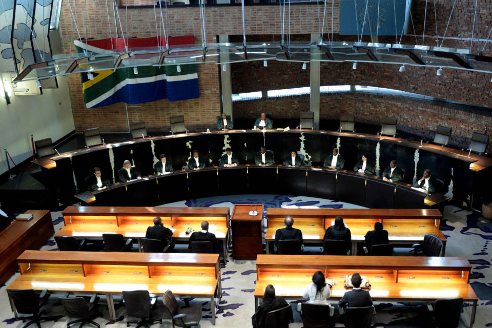13 August 2018: The Constitutional Court seen in this file picture from an earlier sitting this year. (Photograph by Gallo Images / Netwerk24 / Deaan Vivier)