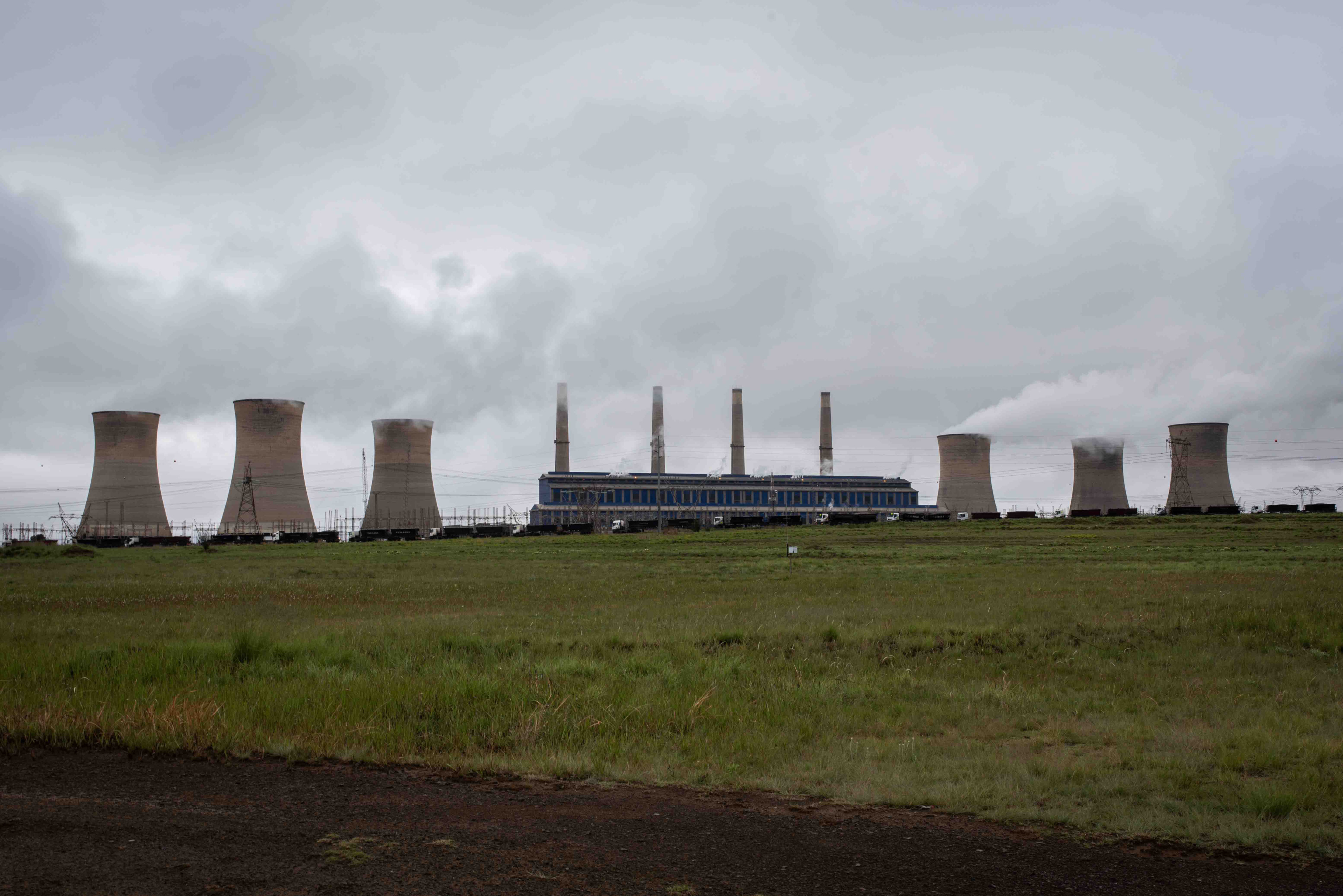 2 November 2018: Camden is one of 11 coal-buring power stations in Mpumalanga.