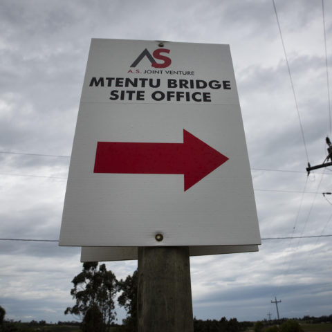 20 November 2018: Amadiba villagers on the Wild Coast have been fighting the building of a megabridge by construction giant Aveng and Austrian firm Strabag.