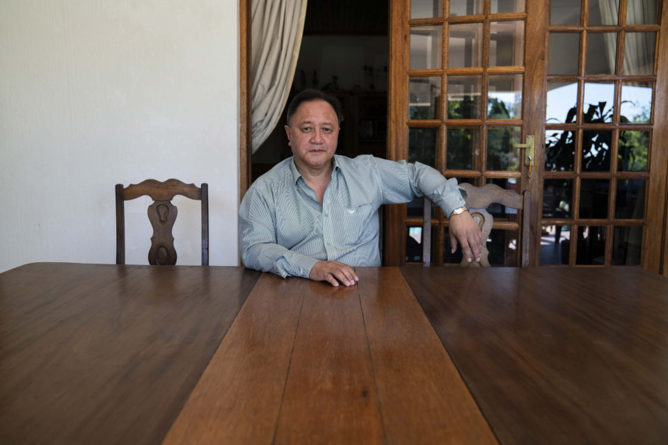 20 March 2019: The Chinese Association's Vice-chairperson Francis Lai Hong at his home.
