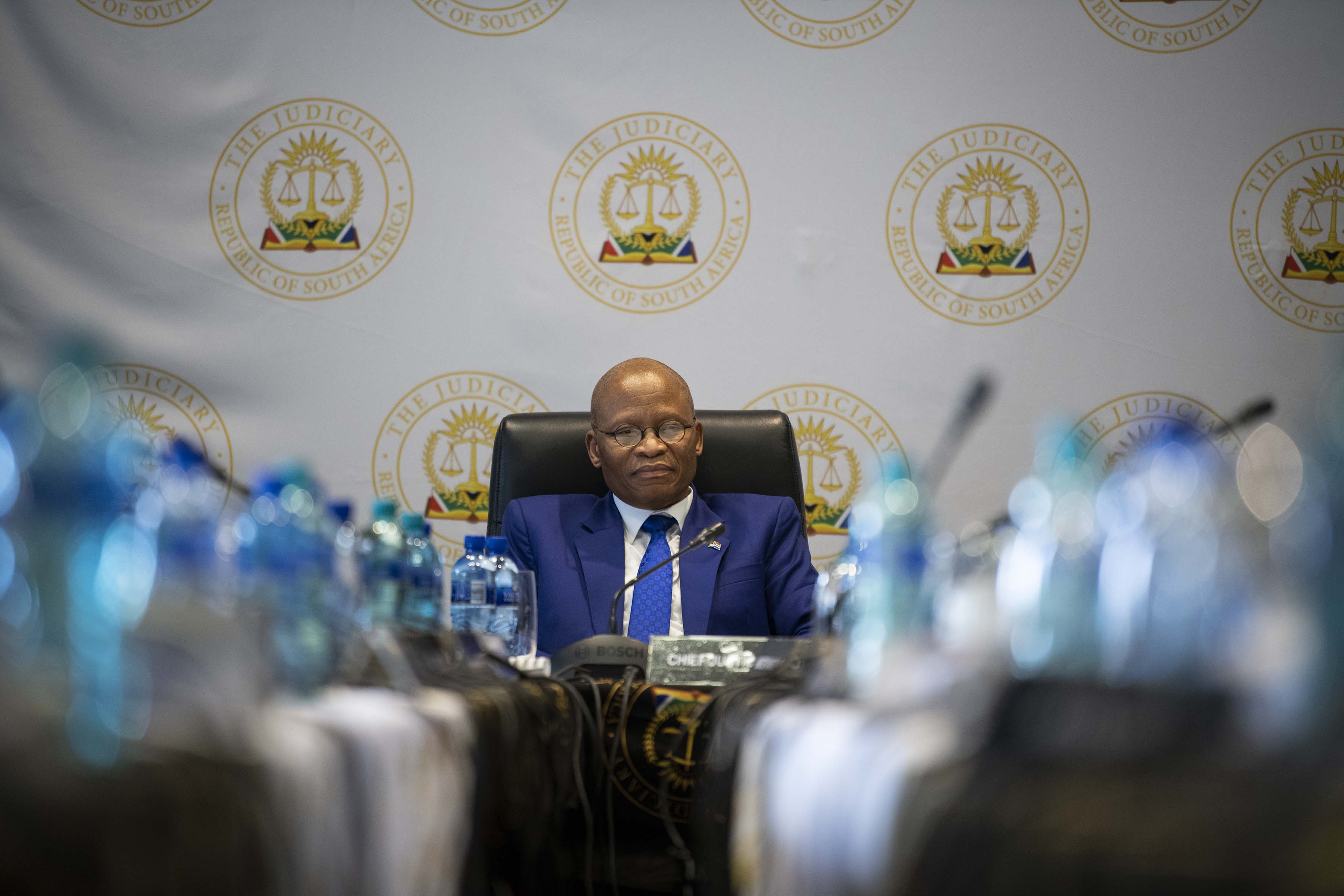 3 April 2019: Chief Justice Mogoeng Mogoeng chairing the JSC interviews.