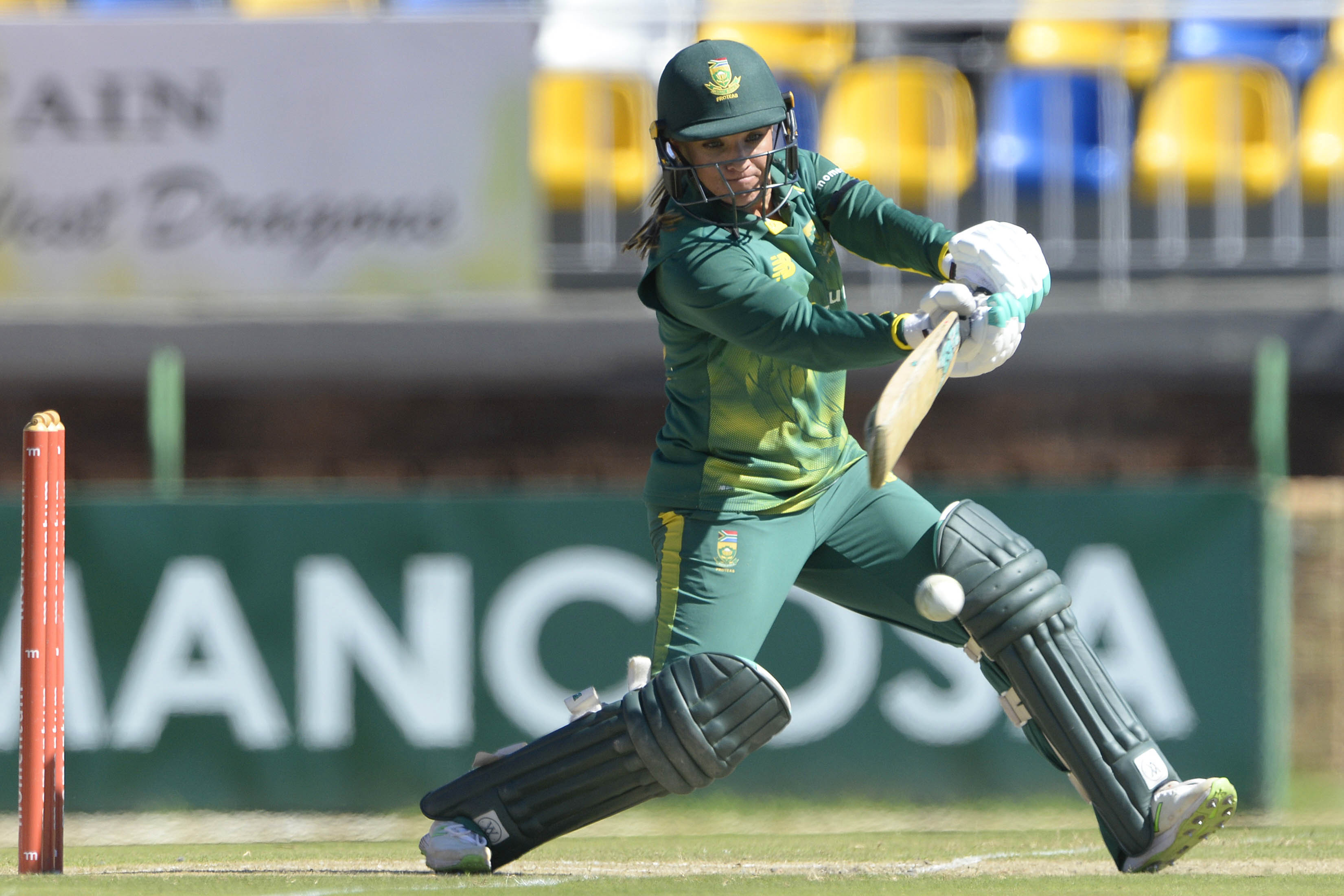 4 May 2018: Proteas' Mignon du Preez during the 1st Womens ODI match between South Africa and Bangladesh at Senwes Park in Potchefstroom. (Photograph by Lee Warren/Gallo Images)