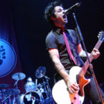 24 November 2004: Green Day's Billie Joe Armstrong performing at the Bill Graham Civic Auditorium in San Francisco, California, during the band's 'American Idiot' tour. (Photograph by Tim Mosenfelder/Corbis via Getty Images)