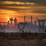 29 April 2018: Eskom's Duvha Power Station at dawn. The facility, 25km from eMalahleni, is one of 12 coal-burning power stations in Mpumalanga. (Photograph by Daylin Paul)