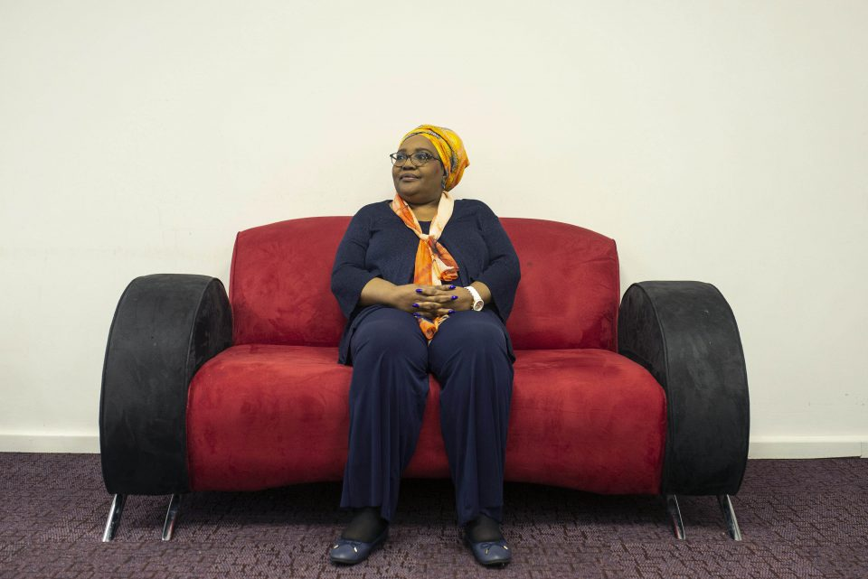 19 November 2018: Former CRL Rights Commission chairperson Thoko Mkhwanazi-Xaluva at the commission's head office in Johannesburg.