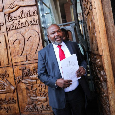 13 August 2018: Former NPA head Mxolisi Nxasana. Deputy Chief Justice Raymond Zondo requested that he appear at the commission of inquiry into state capture at short notice. (Photograph by Gallo Images/ Sowetan/ Alaister Russell)