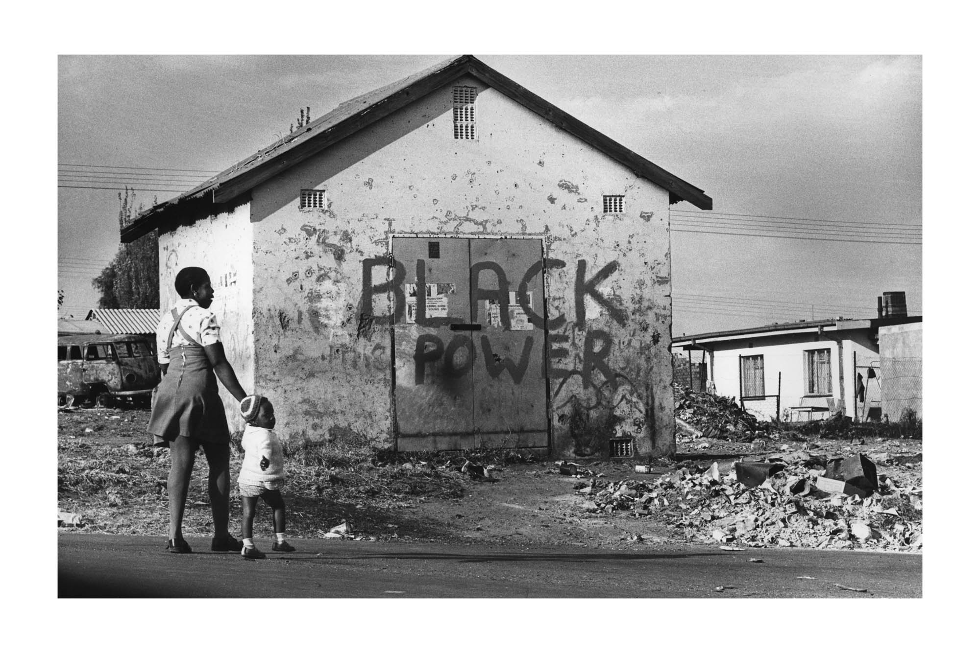 1976: Black Power. (Photograph by Peter Magubane)