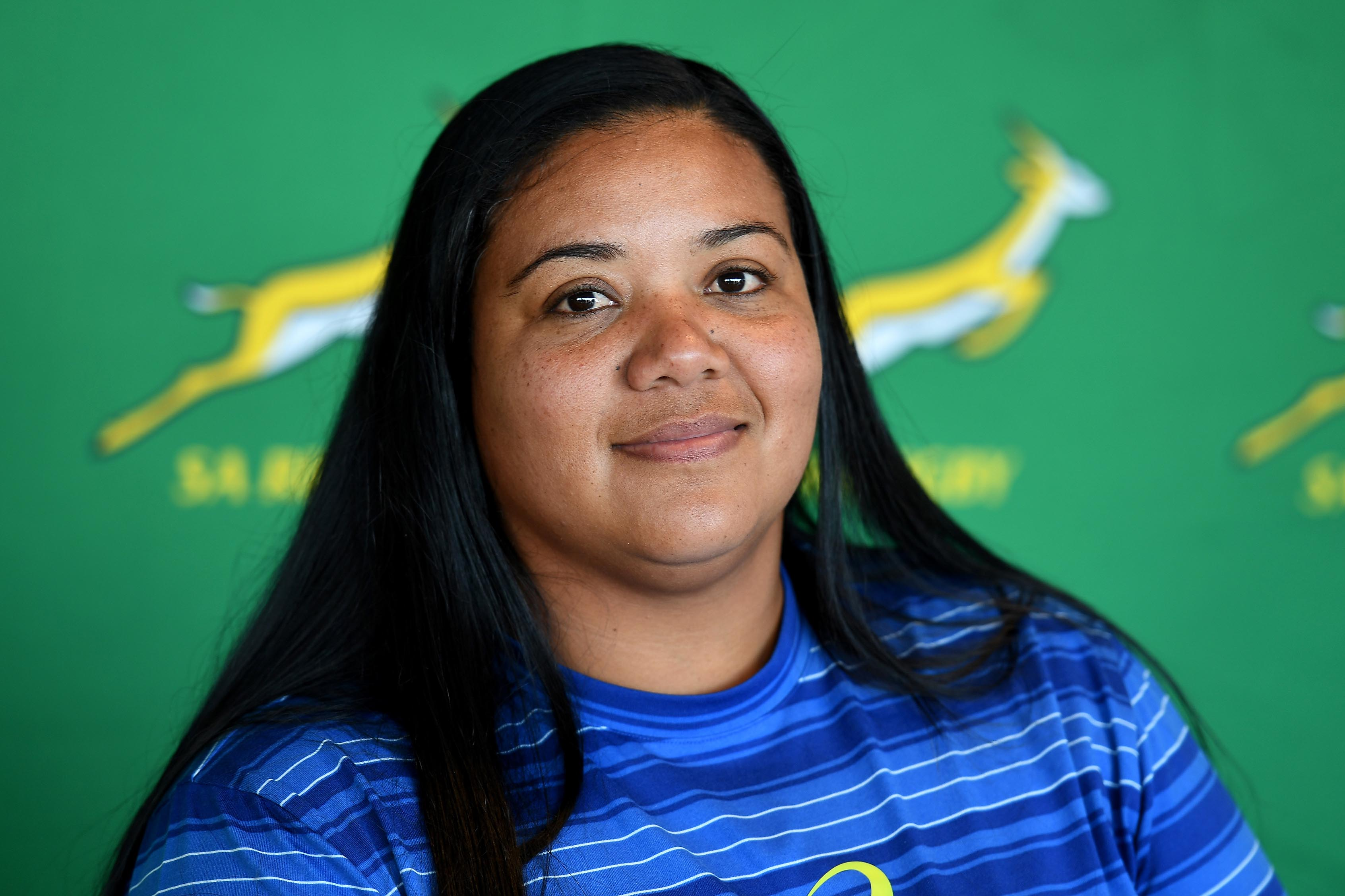 24 May 2019: Laurian Johannes played rugby for South Africa and now coaches the women's national Under-20 team. (Photograph by Ashley Vlotman/Gallo Images)