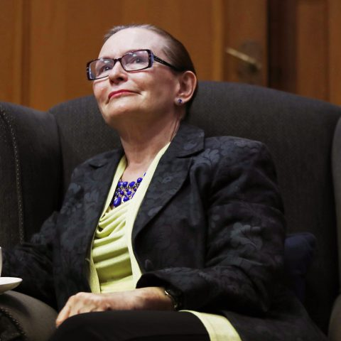 23 April 2019: Former DA leader and Western Cape premier Helen Zille. (Photograph by Gallo Images/Sunday Times/Esa Alexander)