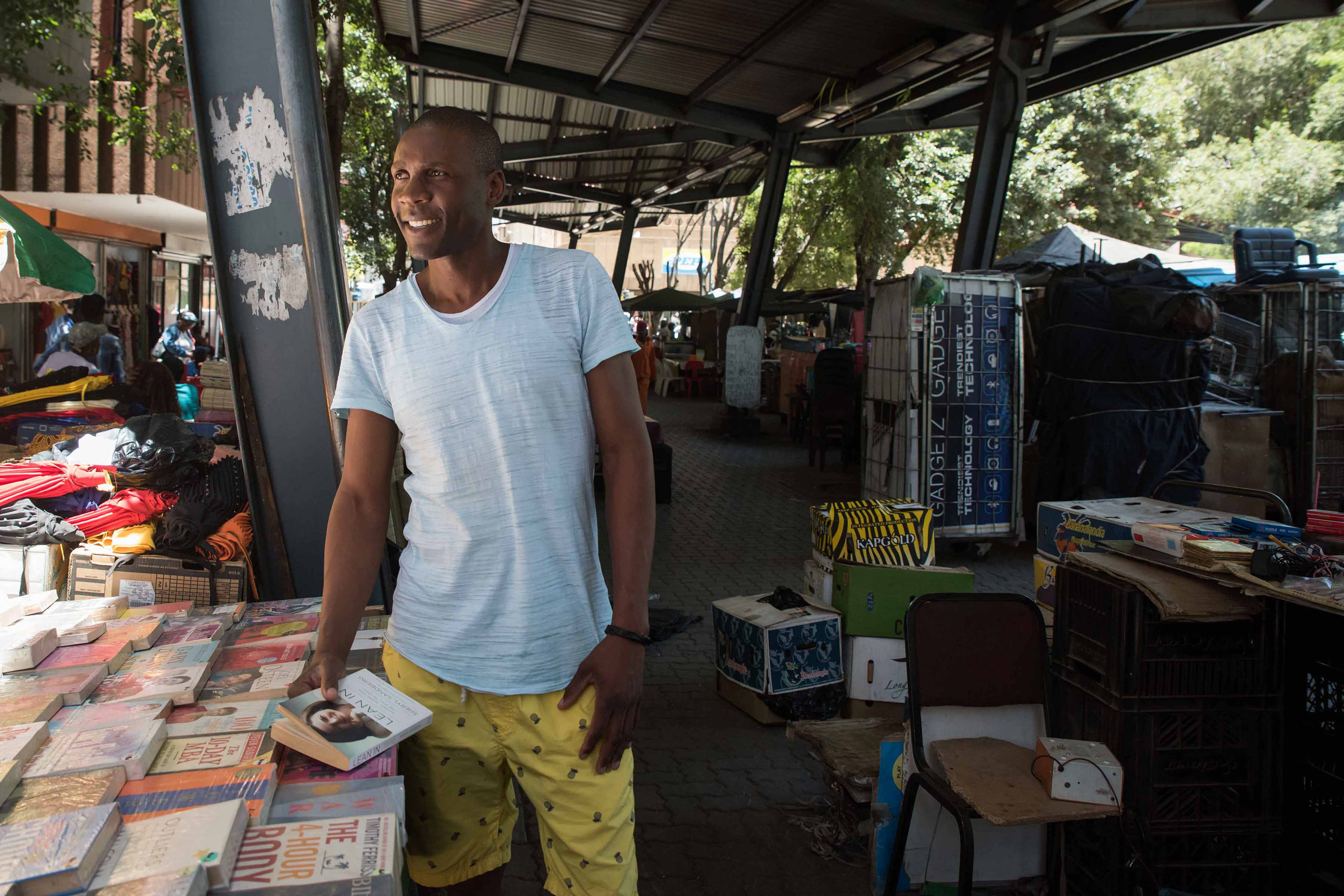 Joburg's booksellers hit the streets : New Frame