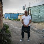 11 July 2019: Mzuvukile Monco in the shack settlement of Endlovini in Khayelitsha.