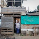 14 June 2019: Residents of the shack settlement in Queen Street, near the Mpolweni taxi rank in Pietermaritzburg.