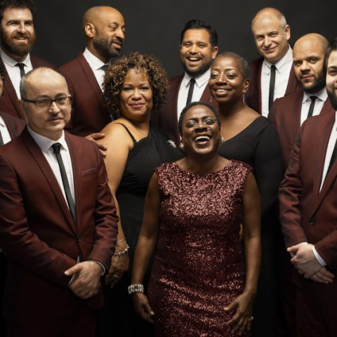 10 February 2015: Sharon Jones & the Dap-Kings in New York. (Photograph by Jacob Blickenstaff)