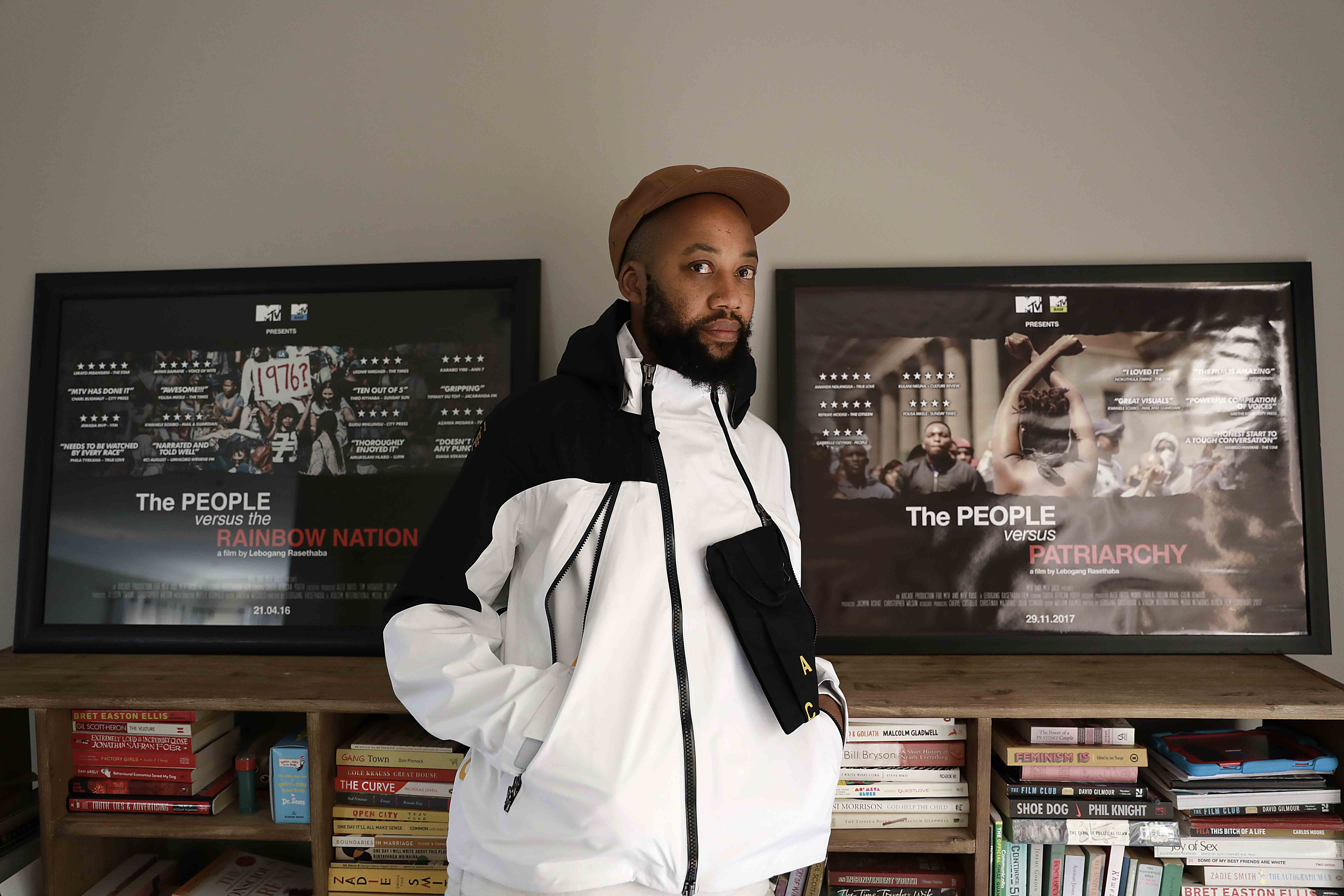 10 July 2019. Lebogang Rasethaba, director of 'The People vs The People' an essay on black love. (Photograph by Alon Skuy/The Times)