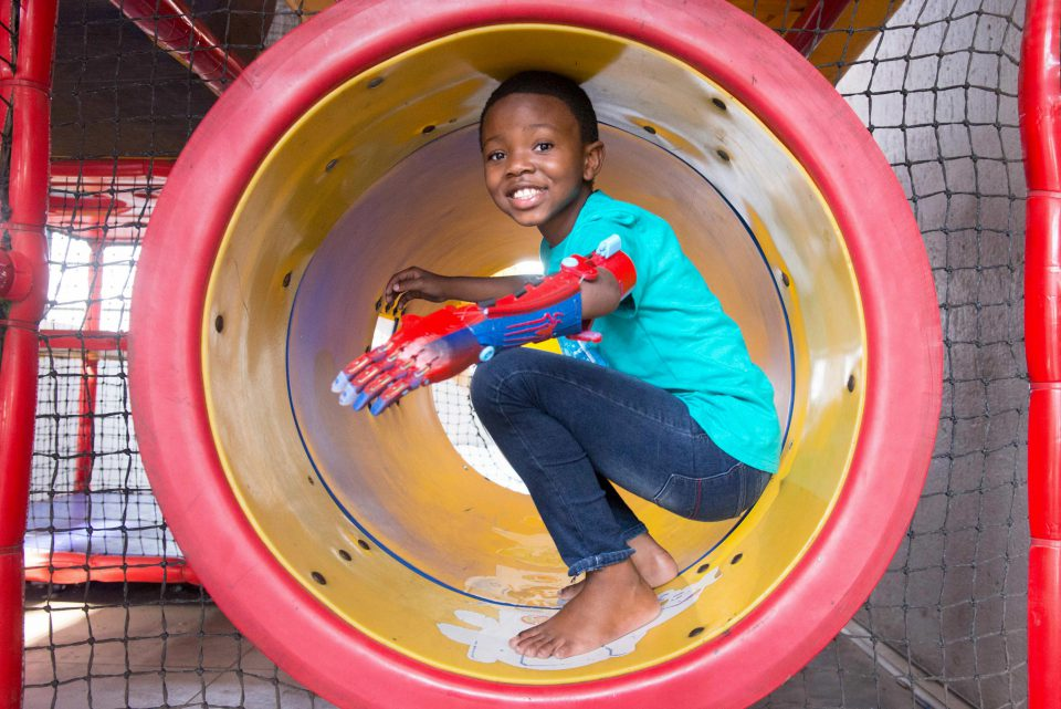 27 June 2019: Aphelele Gumede has gone from disabled to superstar since getting his 3D-printed, 'bionic' arm.