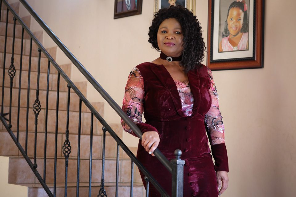 30 June 2019: Buyiselwa Daweti, who lost her daughter and unborn babies because of the negligence of Dr Danie Van Der Walt 14 years ago.