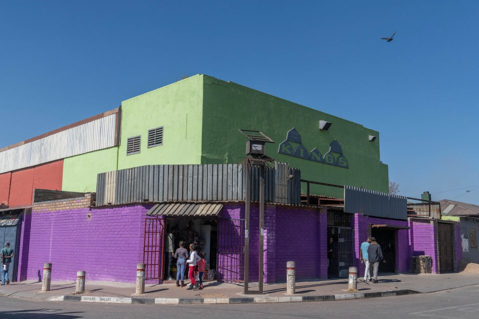 14 July 2019: The brightly painted Kings Cinema in Alexandra township in northern Johannesburg is once again showing movies on the big screen.
